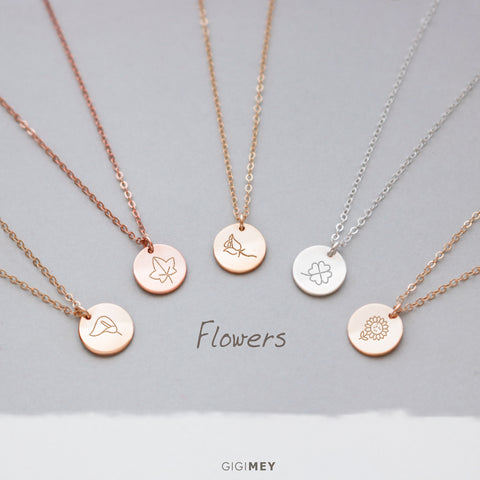 Flower Necklace • NDV130