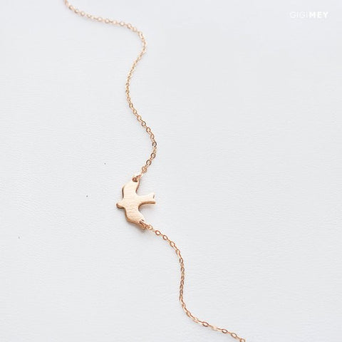 Dainty Dove Necklace • NDOV1