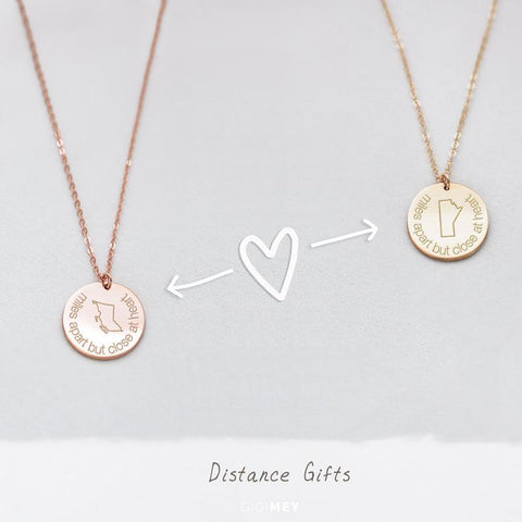 Long Distance Necklace • NDv16-06