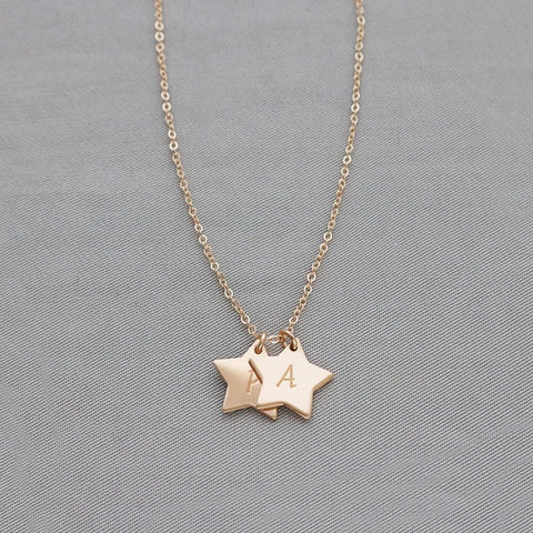 Personalized star necklace • NFSTvm