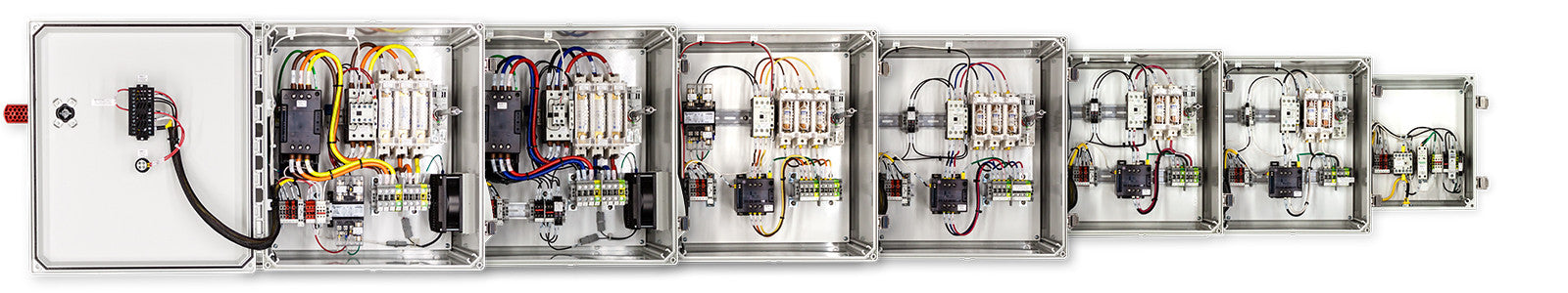 Three Phase Temperature Control Panels