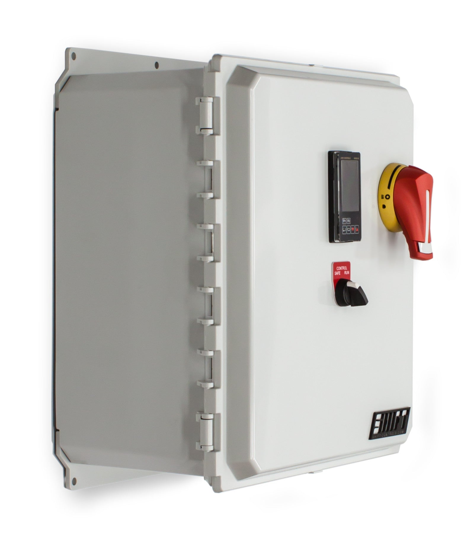 Temperature Control Panel Single Phase 120 Vac 35 Amp 420kw How To Inspect The Size Of Main Electrical Disconnect Fuse Or 120v 35a Shift Controls Latch Iso