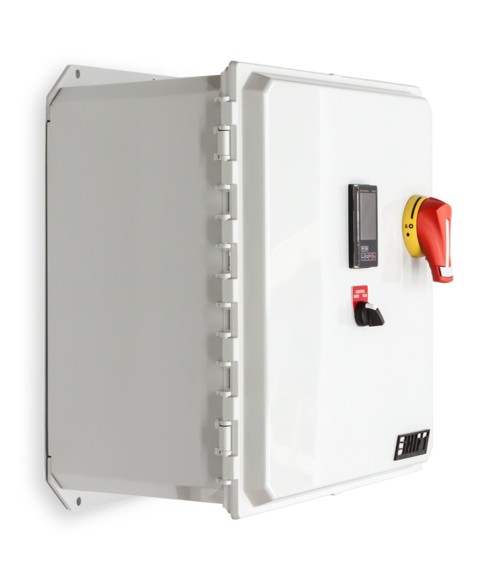 Temperature Control Panel Three Phase 480 Vac 24 Amp 200 Kw 30 Volt Fuse Box 480v 24a Shift Controls Hinge Iso