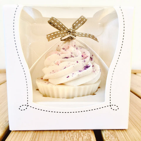 TWO of CUPs Handmade Cupcake Goat Milk Soap Pixie