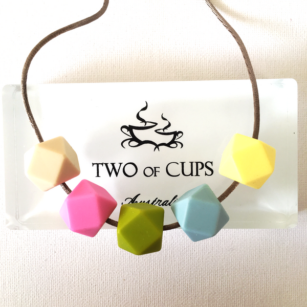 TWO of CUPs Baby Baby -  Necklace / Necklace & Cupcake giftset