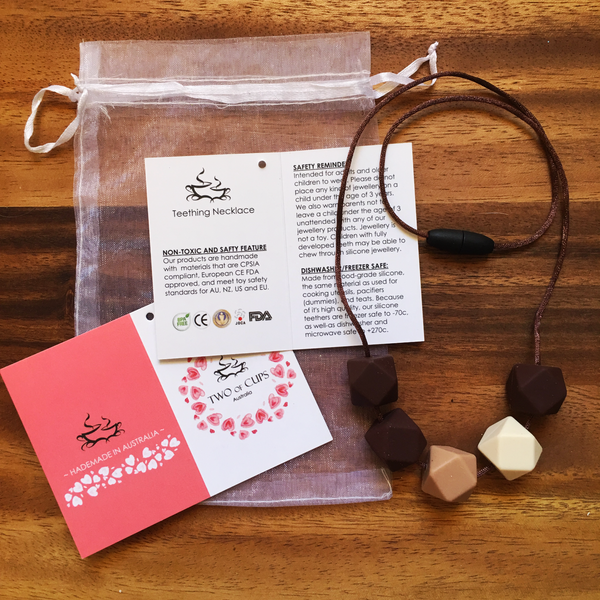 TWO of CUPs Indulge - Necklace/ Necklace & Cupcake giftset