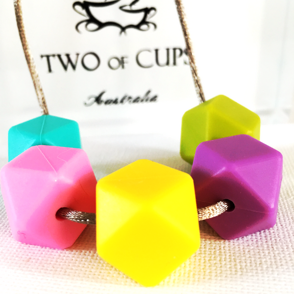TWO of CUPs Playtime - Necklace / Necklace & Cupcake giftset