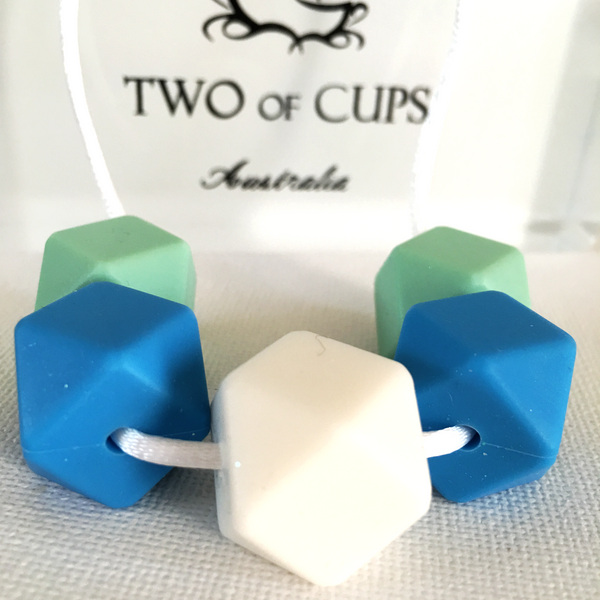 TWO of CUPs Surf -  Necklace / Necklace & Artsian Soap giftset