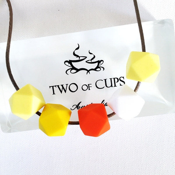 TWO of CUPs Together -  Necklace / Necklace & Cupcake giftset