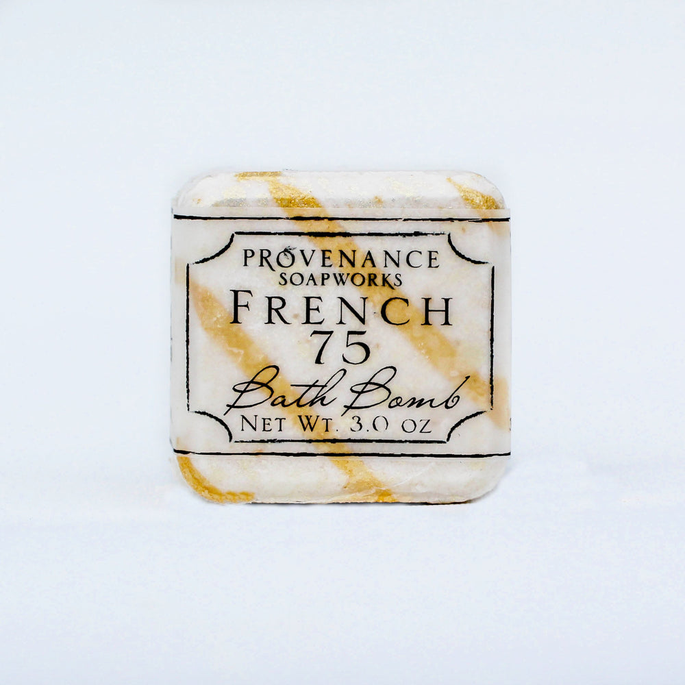 French 75 Bath Bomb Cube