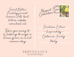 Sicilian Citrus Soap Postcard