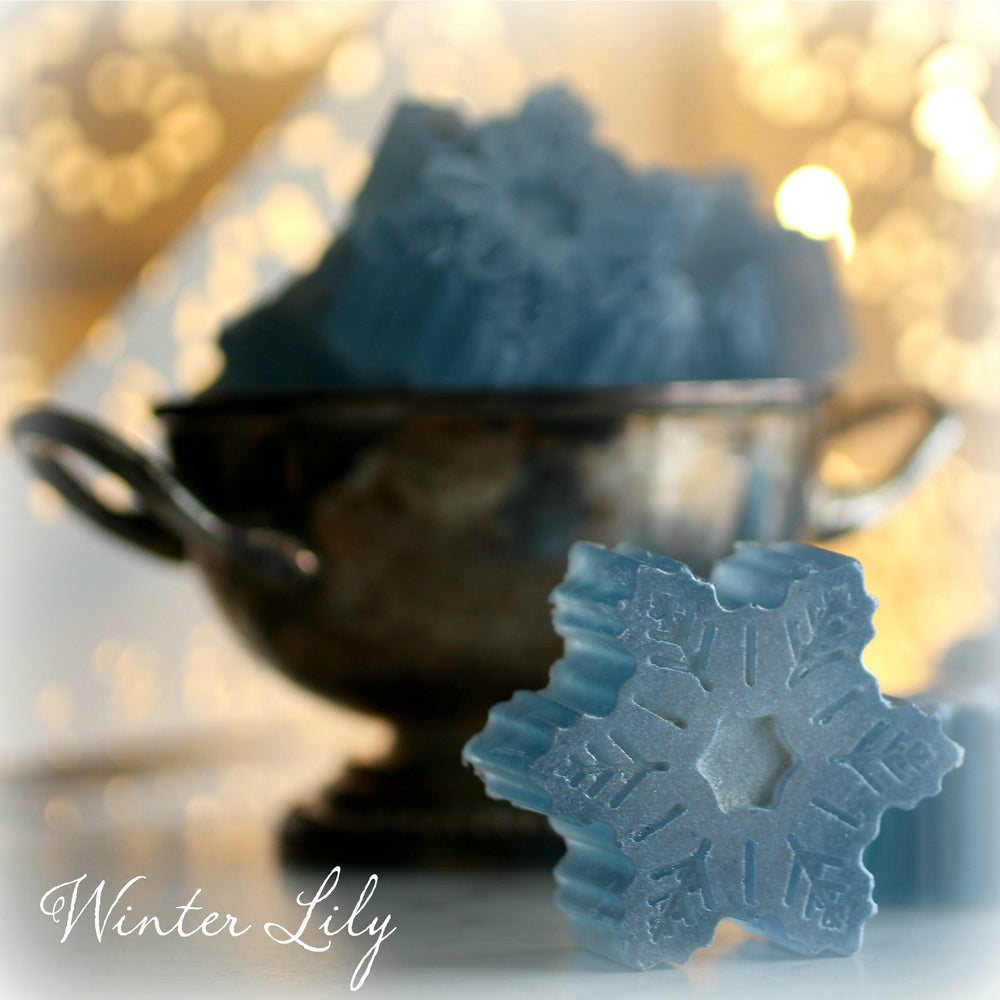 Shimmering Snowflake Hand Soap