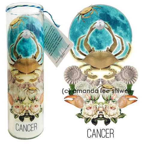 "Astrology Candle:  ""Cancer"""