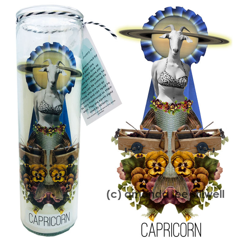 "Astrology Candle:  ""Capricorn"""