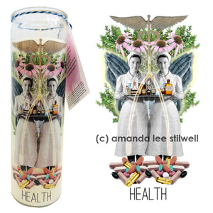 "Spell Candle:  ""Health"""