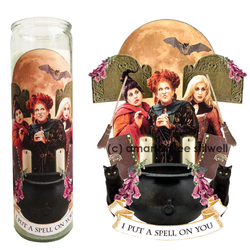 "Pop Culture Candle: ""I PUT A SPELL ON YOU"""