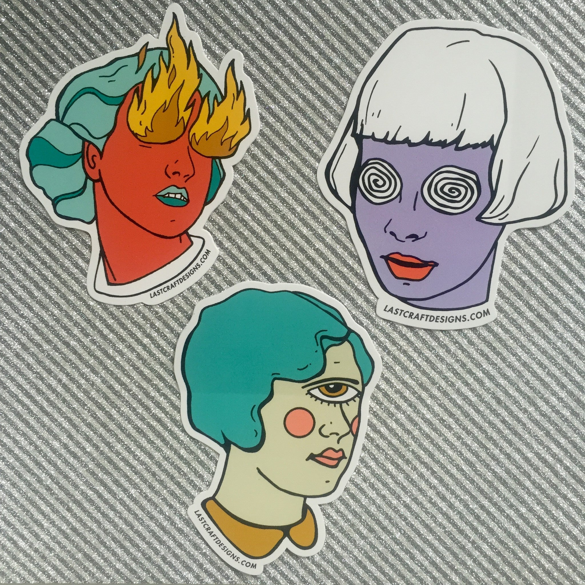 Witch Sisters Sticker Pack