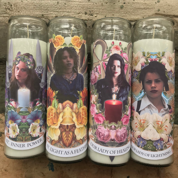 Pop Culture Altar Candles: The Craft - Our Lady of Healing