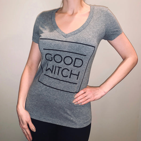 Limited Print Run Good Witch Shirt - Women S-XXL - V-Neck Tight Style