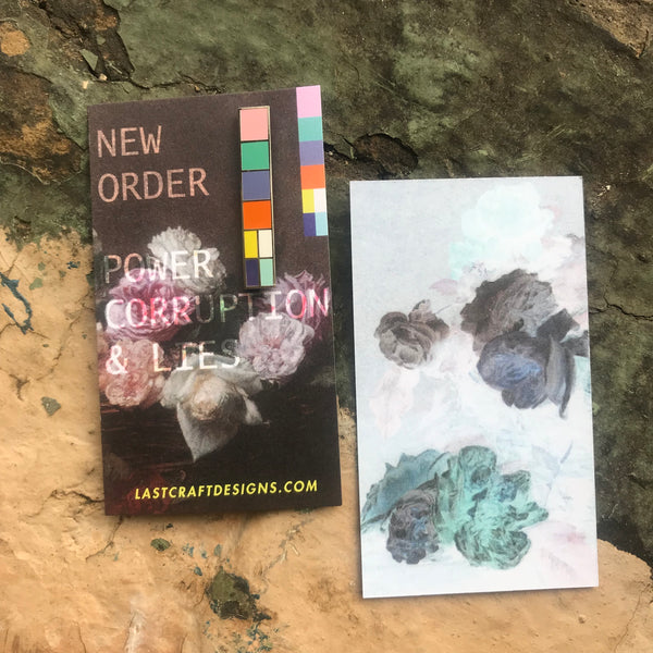 New Order Color Bar Enamel Pin