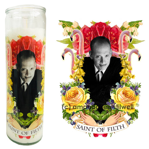 "Pop Culture Altar Candle:  ""Saint of Filth"""