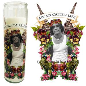 Pop Culture Altar Candle:  Jordan My So Called Life