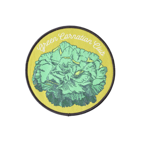 Patch - Green Carnation Club *ORIGINAL DESIGN*
