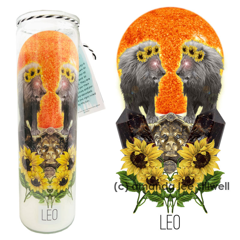 "Astrology Candle:  ""Leo"""