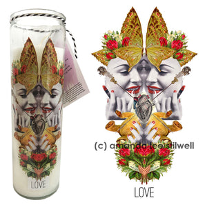 "Spell Candle:  ""Love"""
