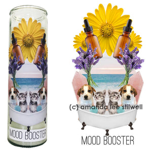 "Spell Candle:  ""Mood Booster"""