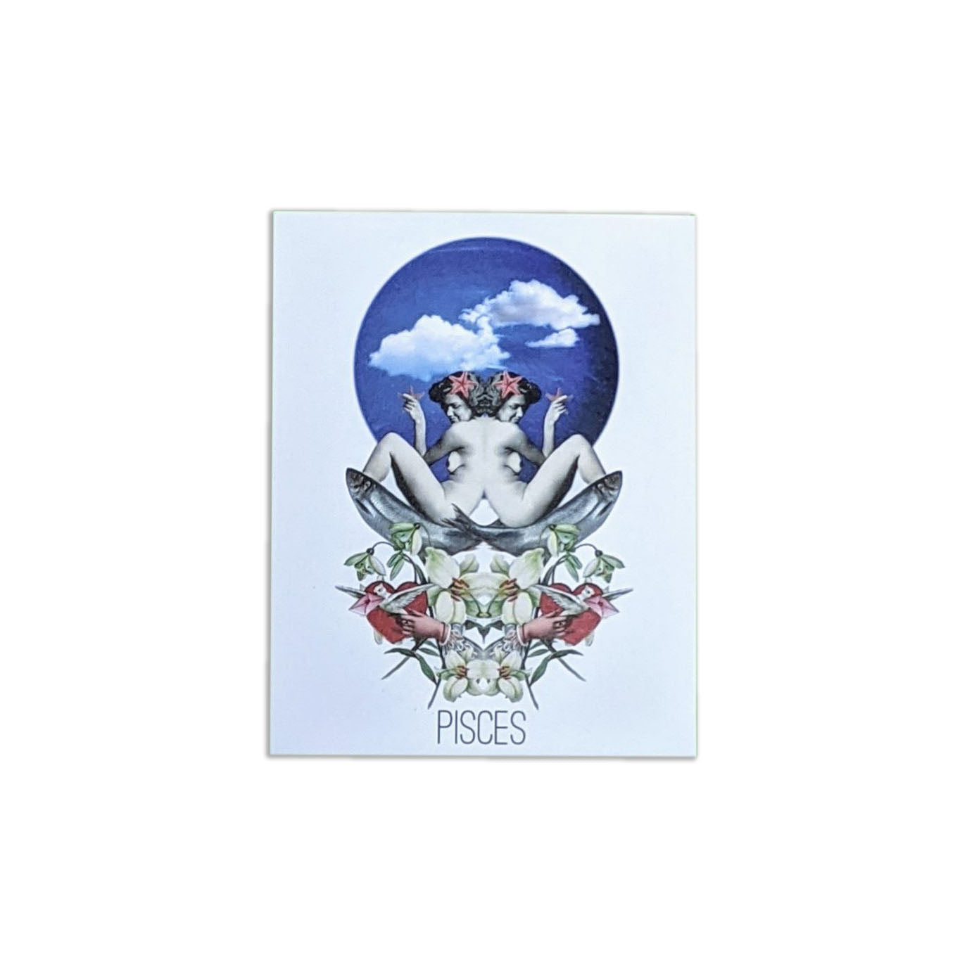 Astrological Greeting Card: Pisces