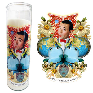 "Pop Culture Altar Candle:  ""Saint of Secret Words"""