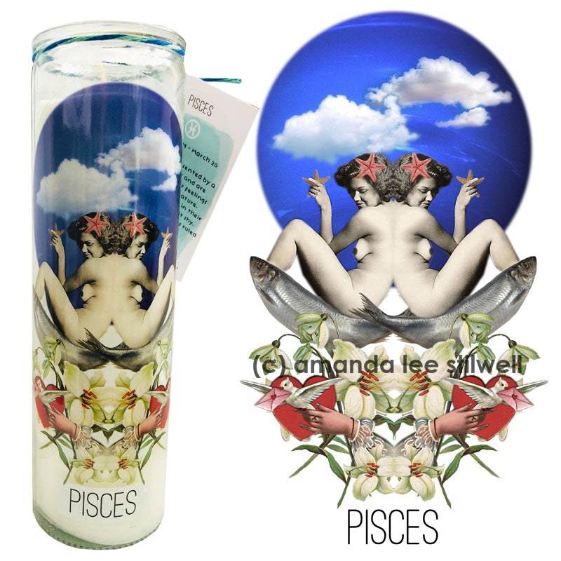 "Astrology Candle:  ""Pisces"""
