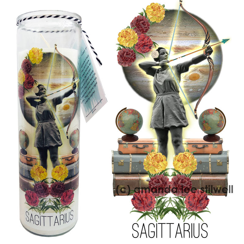 "Astrology Candle:  ""Sagittarius"""