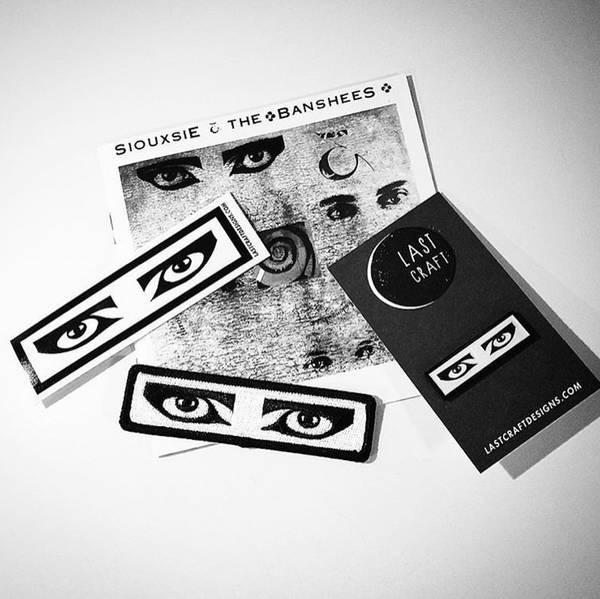 Siouxsie Eyes / Goth Eyes Sticker
