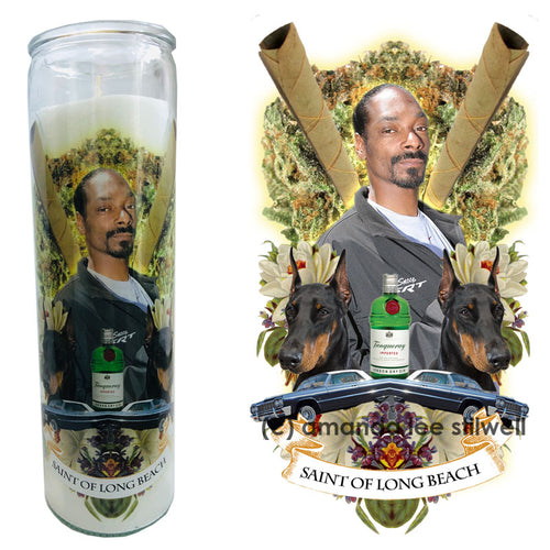 "Pop Culture Candle: ""Saint Of Long Beach"""
