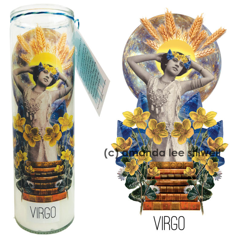 "Astrology Candle:  ""Virgo"""
