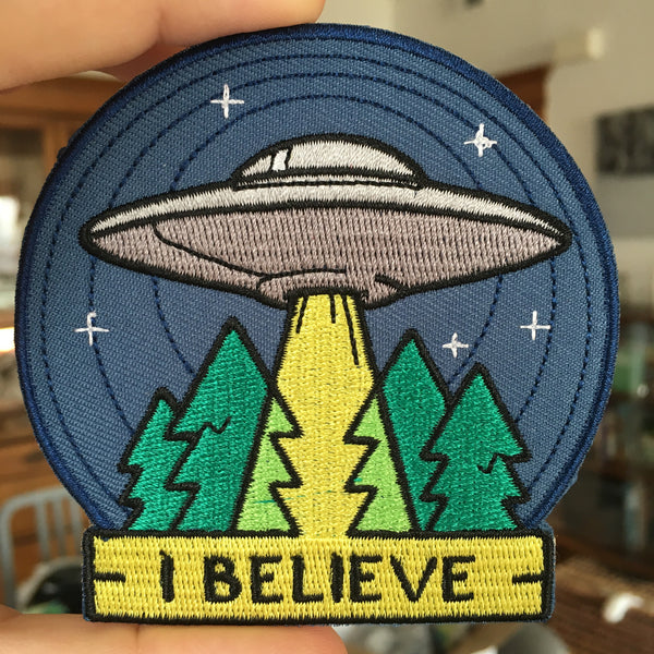 "Patch - UFO ""I Believe"" *ORIGINAL DESIGN*"