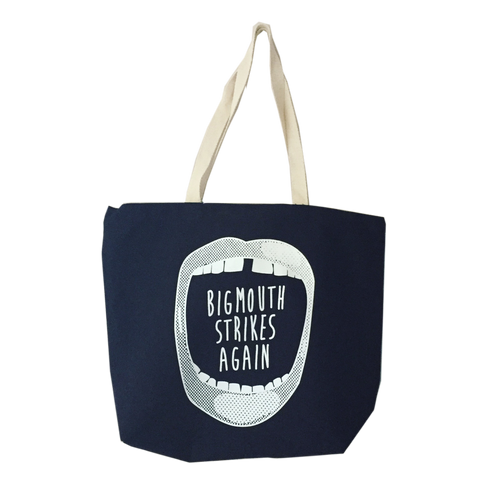 Large Tote Bag - Big Mouth Strikes Again