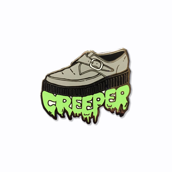 Creeper Shoe Enamel Pin