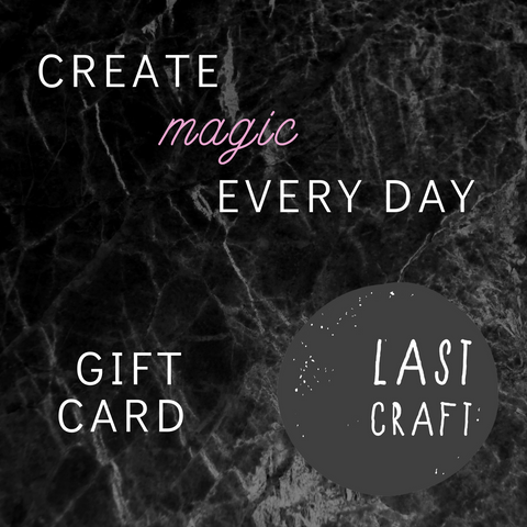LastCraft Gift Card