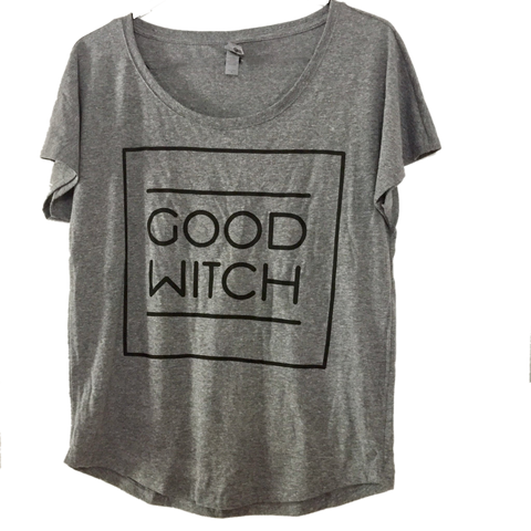 Good Witch Shirt - Women S-XXL - Scoop Neck Loose Style