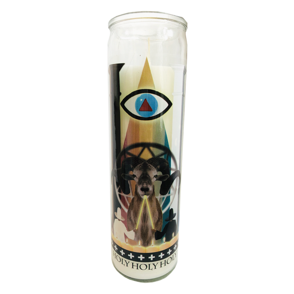Pop Culture Altar Candle: Holy Mountain