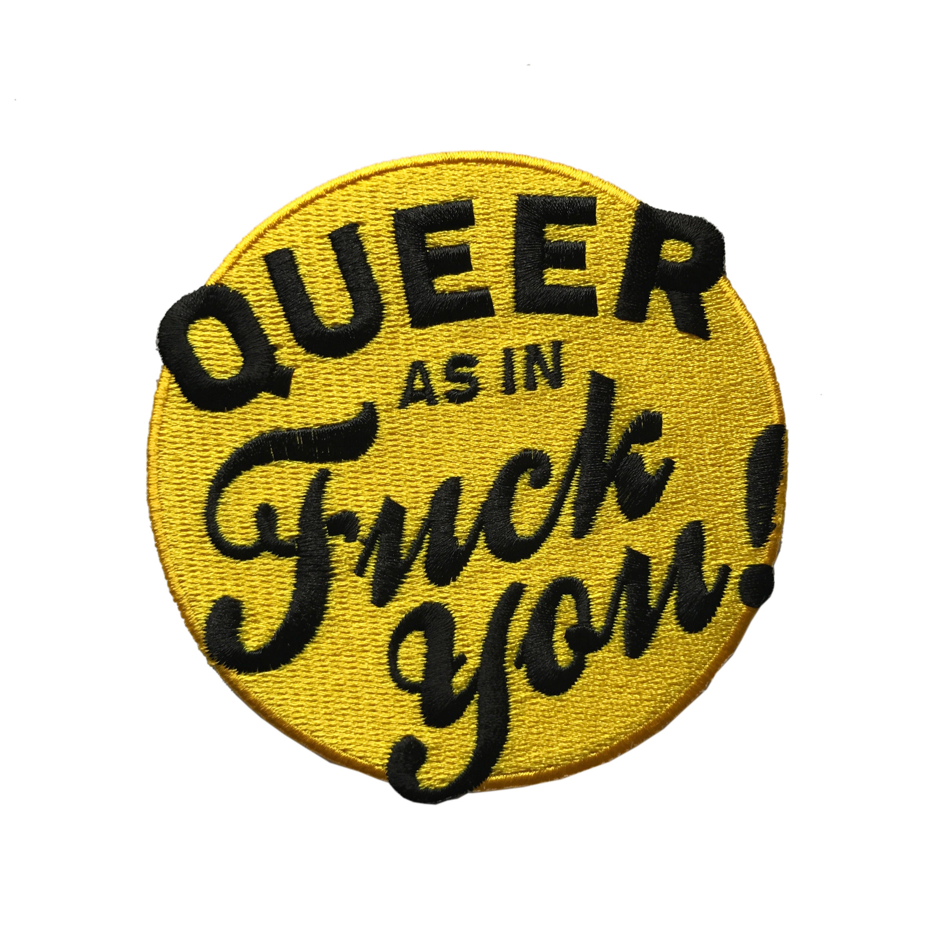 Patch - Queer As In F You