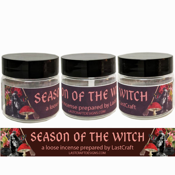 Season of the Witch handmade Loose Incense