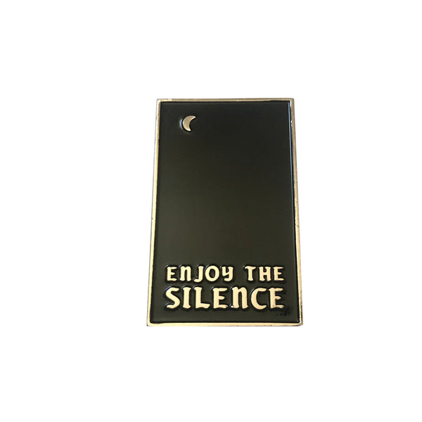 Enjoy the Silence Enamel Pin