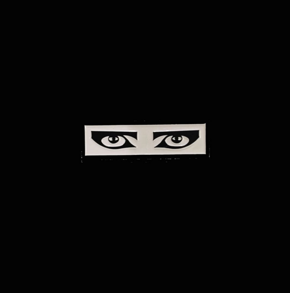 Goth Eyes Enamel Pin