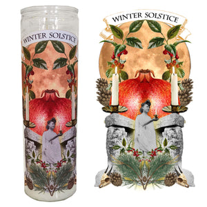 "Spell Candle:  ""Winter Solstice"""