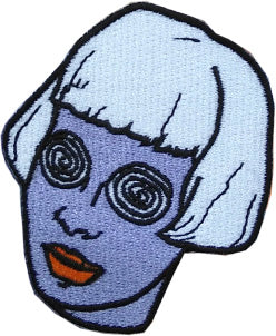 Spiral Eyes Girl Small Patch *ORIGINAL DESIGN*