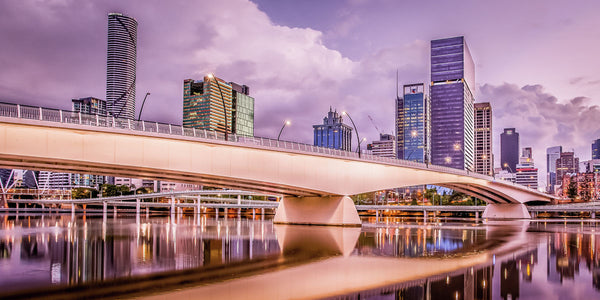 Victoria Bridge - Brisbane | Limited Edition Fine Art Print | Signed & Numbered Certificate of Authenticity - Michael Lees Photography